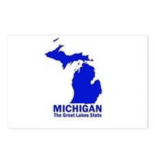 Michigan . . . The Great Lake Postcards (Package o