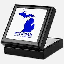 Michigan . . . The Great Lake Keepsake Box