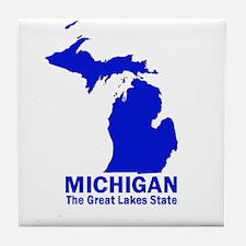 Michigan . . . The Great Lake Tile Coaster