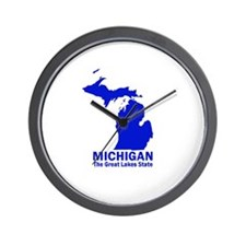 Michigan . . . The Great Lake Wall Clock
