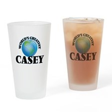 World's Greatest Casey Drinking Glass