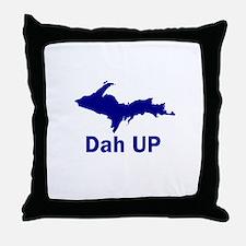 Dah UP Throw Pillow