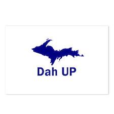 Dah UP Postcards (Package of 8)