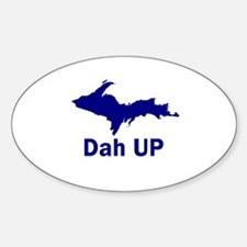 Dah UP Oval Decal