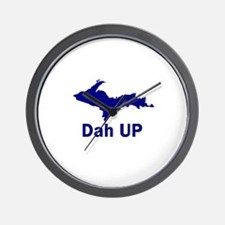 Dah UP Wall Clock