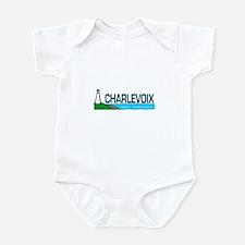 Charlevoix, Michigan Infant Bodysuit