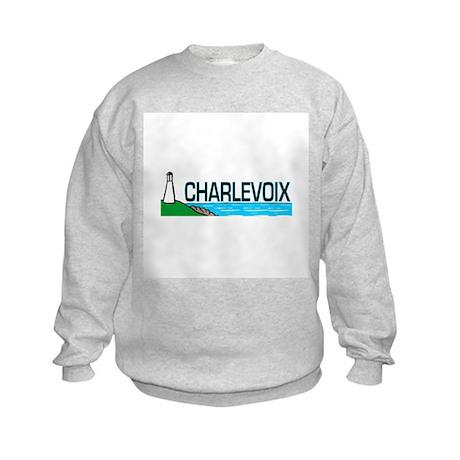 Charlevoix, Michigan Kids Sweatshirt