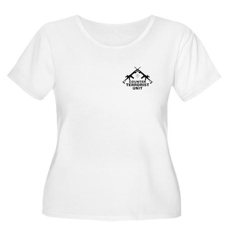 CTU Women's Plus Size Scoop Neck T-Shirt