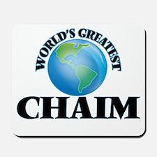 World's Greatest Chaim Mousepad
