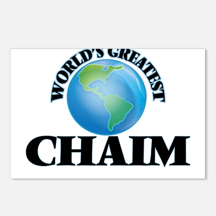 World's Greatest Chaim Postcards (Package of 8)