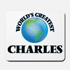 World's Greatest Charles Mousepad