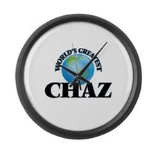 World's Greatest Chaz Large Wall Clock