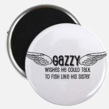 Gazzy Wants to Talk to Fish Magnet