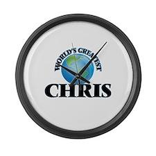 World's Greatest Chris Large Wall Clock