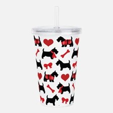 Scottie dog Lover Acrylic Double-wall Tumbler