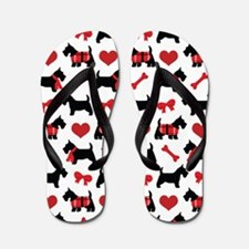 Scottie dog Lover Flip Flops