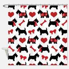 Scottie dog Lover Shower Curtain
