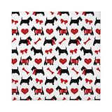 Scottish terrier Queen Duvet Covers