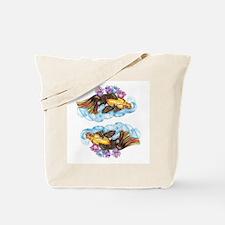 koi and Lotus (C) Tote Bag