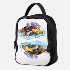 koi and Lotus (C) Neoprene Lunch Bag