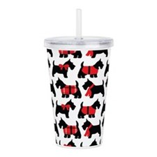 Scottish Terrier lover Acrylic Double-wall Tumbler