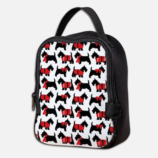 Scottish Terrier lover Neoprene Lunch Bag