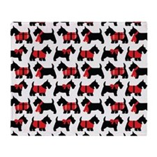 Scottish Terrier lover Throw Blanket