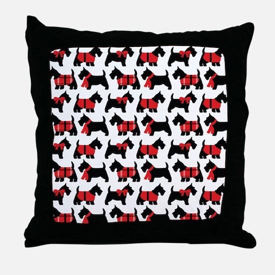 Scottish Terrier lover Throw Pillow