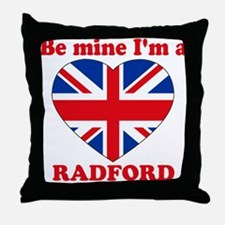 Radford, Valentine's Day Throw Pillow