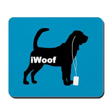 iWoof Bloodhound Mousepad