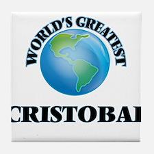 World's Greatest Cristobal Tile Coaster