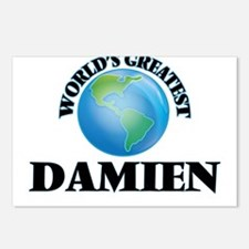 World's Greatest Damien Postcards (Package of 8)