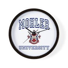 MOHLER University Wall Clock
