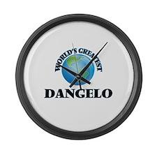 World's Greatest Dangelo Large Wall Clock