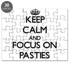 Keep Calm and focus on Pasties Puzzle