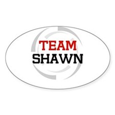Shawn Oval Decal