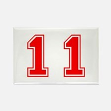 11-var red Magnets