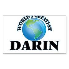 World's Greatest Darin Decal