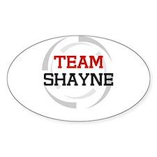 Shayne Oval Decal
