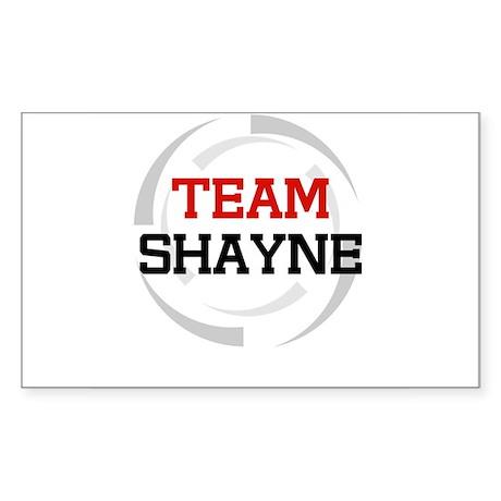 Shayne Rectangle Sticker