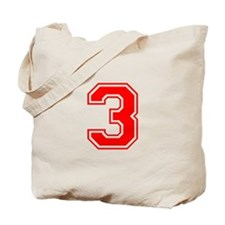 3-var red Tote Bag