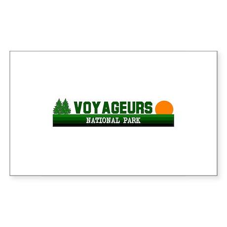 Voyageurs National Park Rectangle Sticker