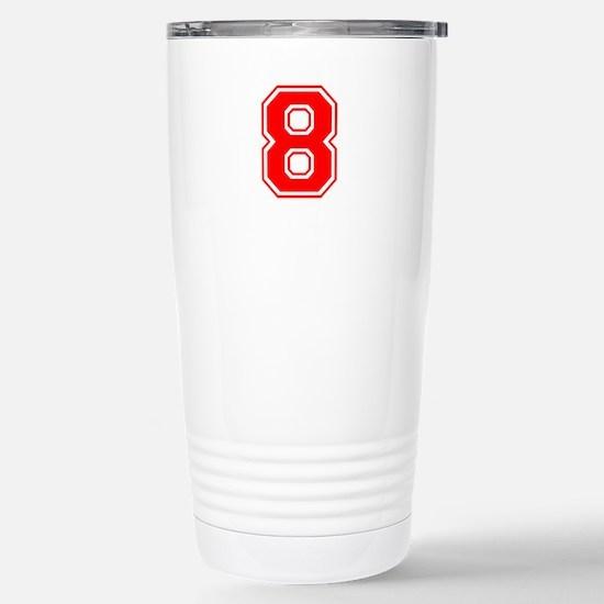 8-var red Travel Mug
