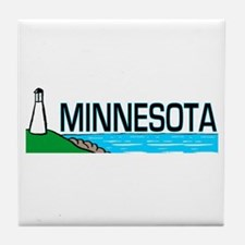 Minnesota Tile Coaster