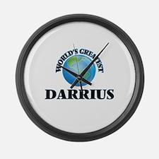 World's Greatest Darrius Large Wall Clock