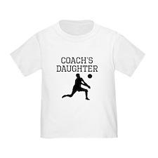 Volleyball Coachs Daughter T-Shirt