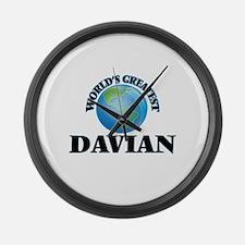 World's Greatest Davian Large Wall Clock