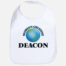 World's Greatest Deacon Bib