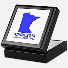 Minnesota . . . Land of 10,00 Keepsake Box