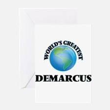 World's Greatest Demarcus Greeting Cards